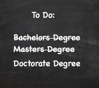 Listing degress in progress on CV Student Doctor Network